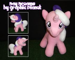 My Little Pony G1 Baby Twilight Plush by GraphicPlanetDesigns