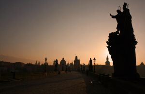 Charles Bridge by deadrose333