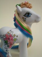 Custom MLP Star Gazer by eponyart