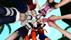 [MMD giantess stuff] Double-fun-troubles by SilverStranger