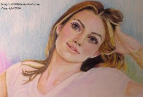 Keira Knightley   ~ Colored pencil by lemgras330