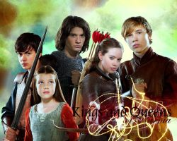Kings and Queens of Narnia by Jugoria