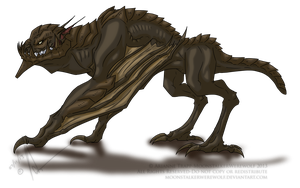 Chalcitrace Concept by MoonstalkerWerewolf
