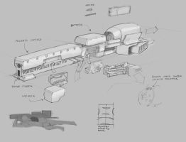 Anti Material Rifle Concept by Legato895
