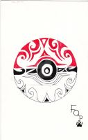 Tribal Poke'ball by Forest-Quick-Paw