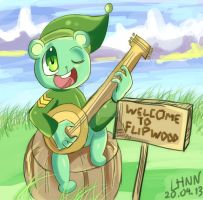 HTF: Lord Flippy by Puyo0702