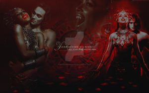 Wallpaper: Queen of the Damned by GothicBrokenBabe