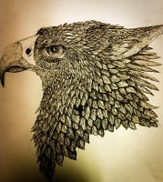 Gryphon in Ink by Broadwinger