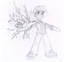 Commish: Spike Storm by Nintendrawer
