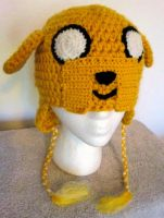Adventure Time Crochet Jake the Dog Hat by LaviLovepaw