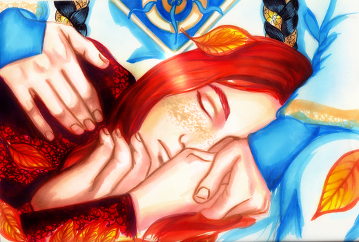 Maedhros and Fingon_Wake me up when September ends by EPH-SAN1634