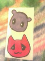Fruits Basket Animal Stickers by Rusi-chan
