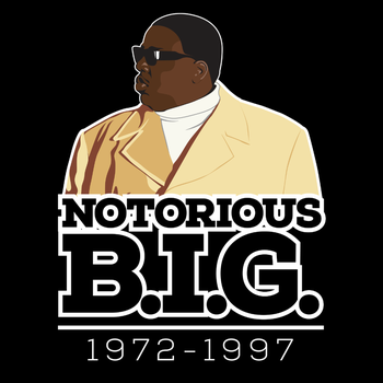 Christopher 'Notorious B.I.G.' Wallace by chadtrutt