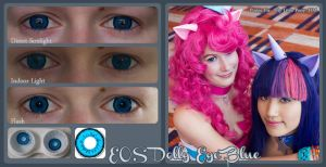 EOS Dolly Blue Contact Lenses by Hamano--Ayumi