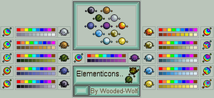 Elementicon: All by Wooded-Wolf