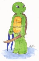 Turtle Tots - Leo by fivefootoh