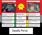 Deadly Force vs Jimmy review by morgrag