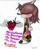 "Shawn ""HBK"" The Hedgehog by RageTheHedgehog"