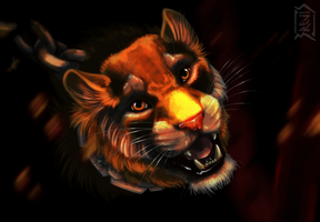 Lioness by Brevis--art