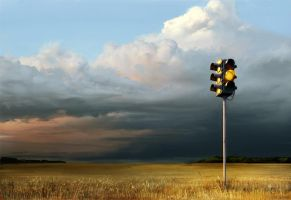 traffic light by Eliag1101