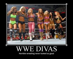 WWE Divas Poster by blunose2772