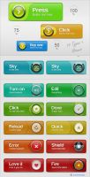Ultra Web Buttons by Solidinkdesign