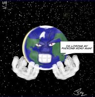 THE WORLD IS GOING CRAZY by Jdot2daP