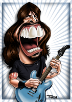 Dave Grohl by danieltorazza