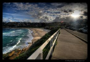 Sunset at Bronte Beach by colpewole