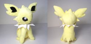 Jolteon plushie by Cutie-Star