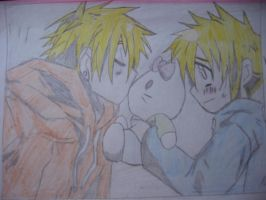 KennyXButters....and Hello Kitty by Magic-Yaoi-Mushroom