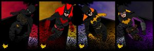 We are Bat Girls by lone-wolf-boudin