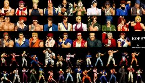 The King of Fighters97 players by EveryAnimeLuvr1