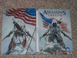 assasins creed 3 case cover limited edition by vikingwarrior14