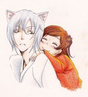 Tomoe and Nanami by saartje95