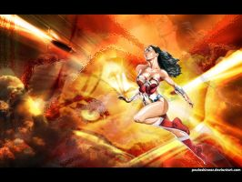 Wonder Woman wallpaper by pauloskinner