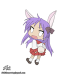 chibi Kagami - colorful by AkiDIDmorning