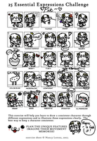 .:25 Expressions MEME with Chibi Pit:. by Hylian-Of-Dreamz