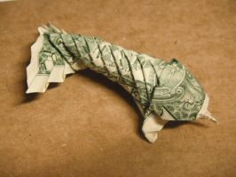 Dollar Bill Koi by small-happy-crane