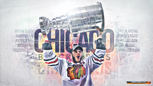 Chicago Blackhawks 2013 Champions by TheHawkeyeStudio