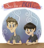 Jack and Dean at MCM Expo by happydoodle