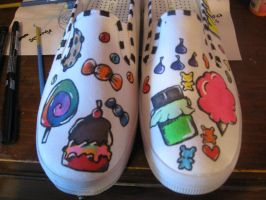 Candy Kid shoes by MyCrimeScene