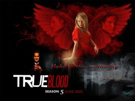true blood, season 5 poster by Tasha507