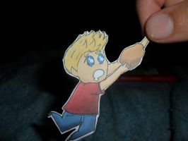 Niall Horan paperchild by Nachmonta