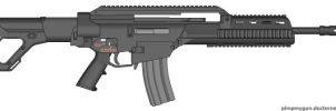 Hk XM8 Early Version by Scarlighter