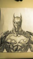 Batwing DC NEW 52 Sketch by lrayjus21
