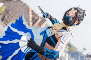 Mortal Kombat, Kitana: ''You will learn respect!'' by 14vegeta