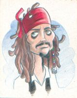 jack sparrow by Marcelo-Ilustra