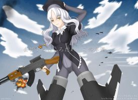 Caren Strike Witches ver. by zenithexe