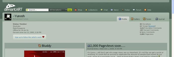 2,000 pageviews :D by Yunosh